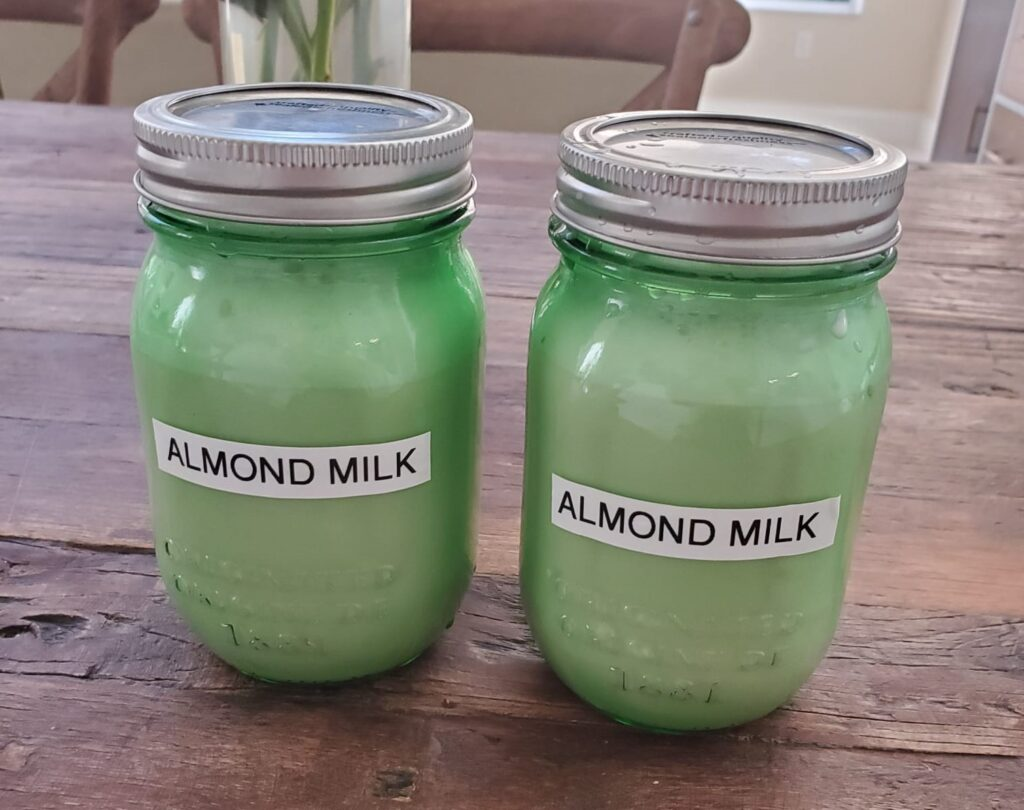 weight, Rebecca Lazar - SIMPLE HOMEMADE ALMOND MILK