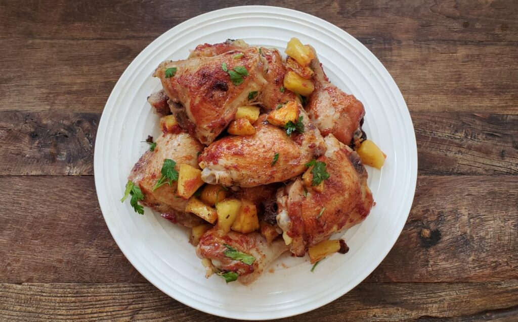 weight, Rebecca Lazar - PINEAPPLE CHICKEN